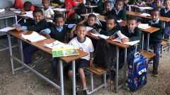 can help a child access education at the Lideta School through the scholarship program.