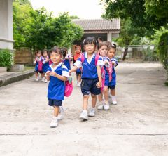 can help cover the cost of school supplies and uniforms for children at the Kindergarten Centre.