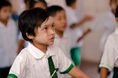 Can support education programs, the construction of Catholic schools and catechism for children.