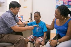 Can support health programs that provide medical treatments and check-ups for children.