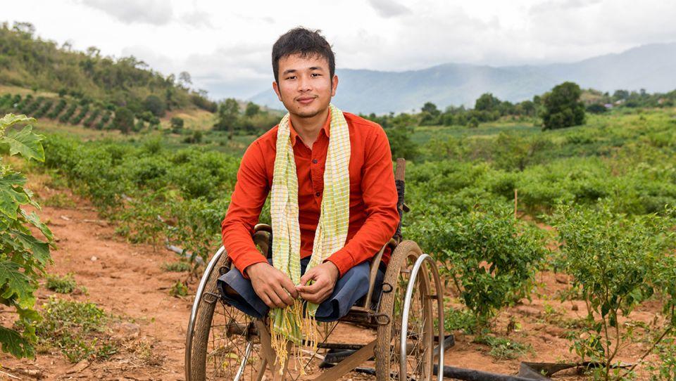 Cambodia chen home